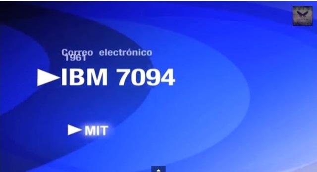 IBM 7094 CORREO ELECTRONICO
