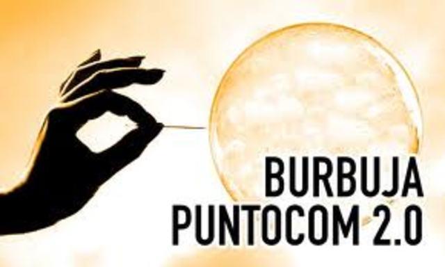 internet  explota Burbuja punto.com
