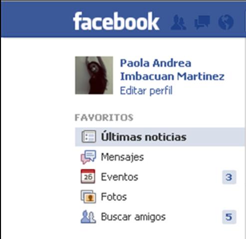 Mi propia cuenta en facebook