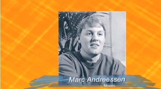 Primera Version mosaic Marc Andreessen