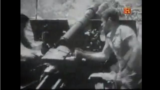 tablas de disparos para piezas de artilleria