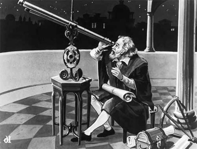 Galileo Bulids His FIrst Telescope