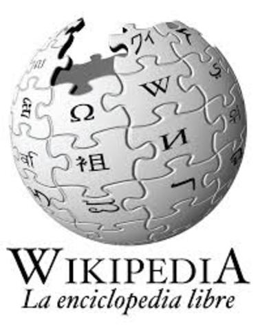Jimmy Wales y Larry Sanger crean wikipedia