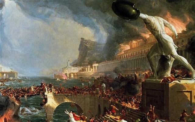 Huns Fall of Rome