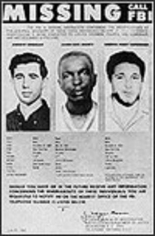 Murder of 3 Civil Rights workers