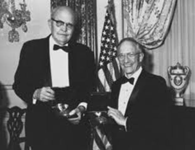 Robert Noyce y Jack Kilby