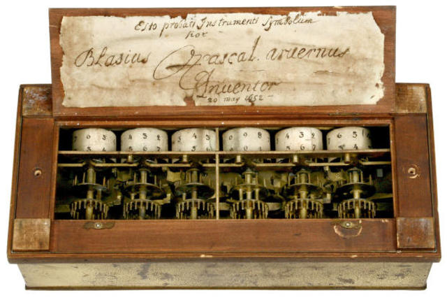 Pascal Invents the Mechanical Calculator