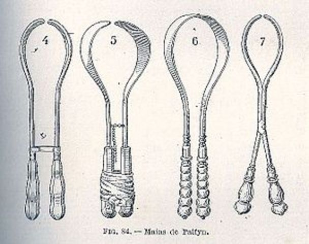 Invention of Forceps