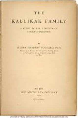 La familia Kallikak