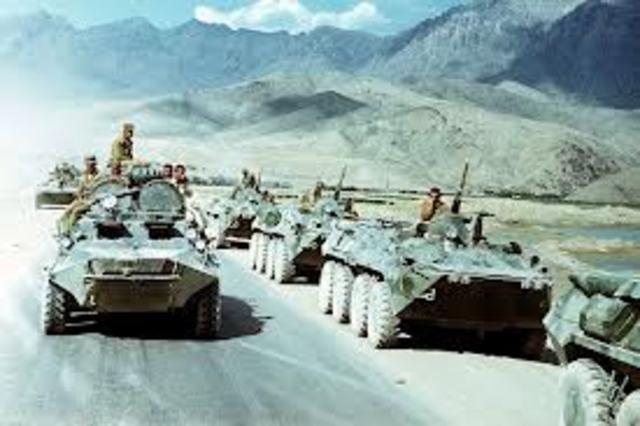 Spenningen i den kalde krigen steg i Afghanistan
