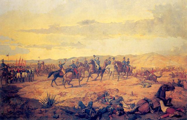 Independencia de las colonias españolas en América.