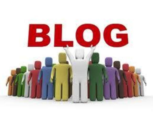 Nacen los blogs
