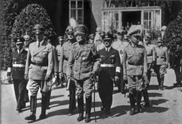 I tedeschi entrano ad Atene.