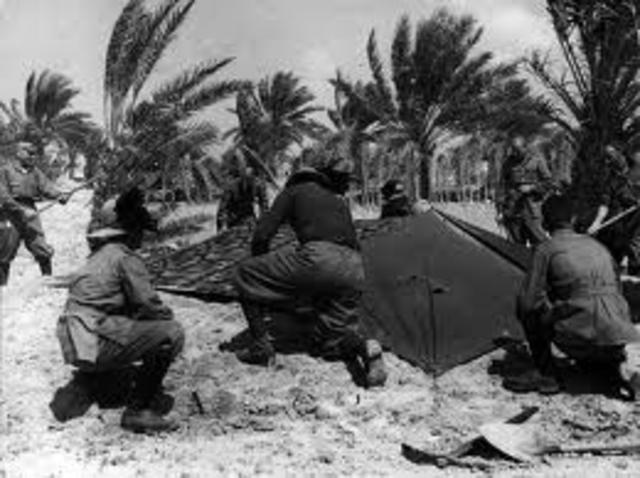 Le truppe britanniche entrano in Etiopia e a Tobruk.