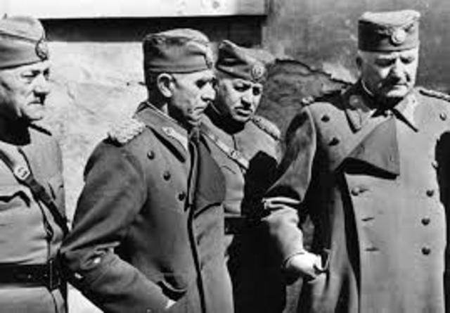 Le forze dell'Asse invadono la Iugoslavia