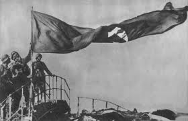 I tedeschi entrano a Sebastopoli.
