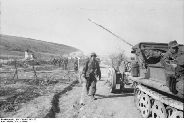 Parte l'offensiva tedesca nel saliente del Kursk