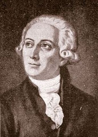 Antoine Lavoisier proposes the Law of Conservation of Mass