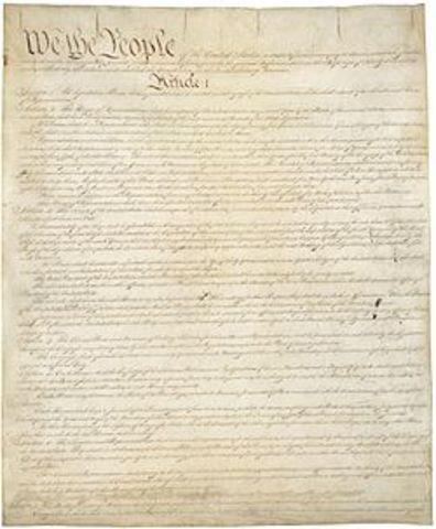 Constitución de los EEUU