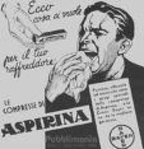 ASPIRINA: REGISTRO DE LA PATENTE