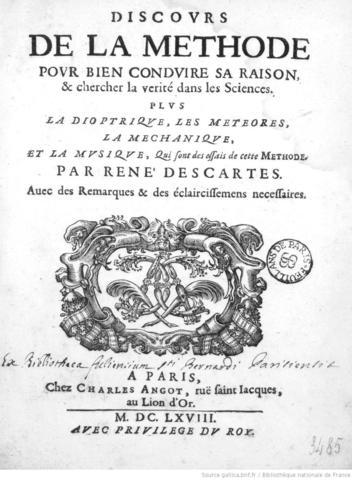 Descartes Publishes 'Discourse on the Method'
