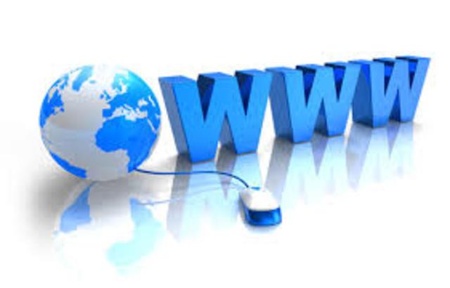 Se crea la www