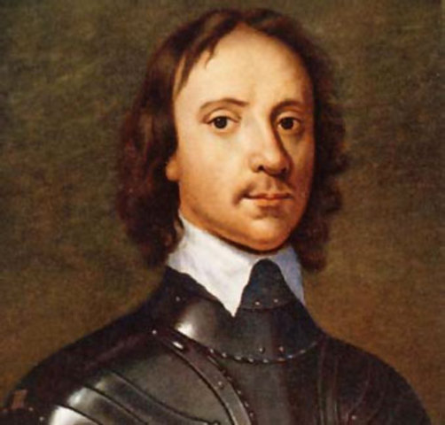 Fallecimiento de Oliver Cromwell