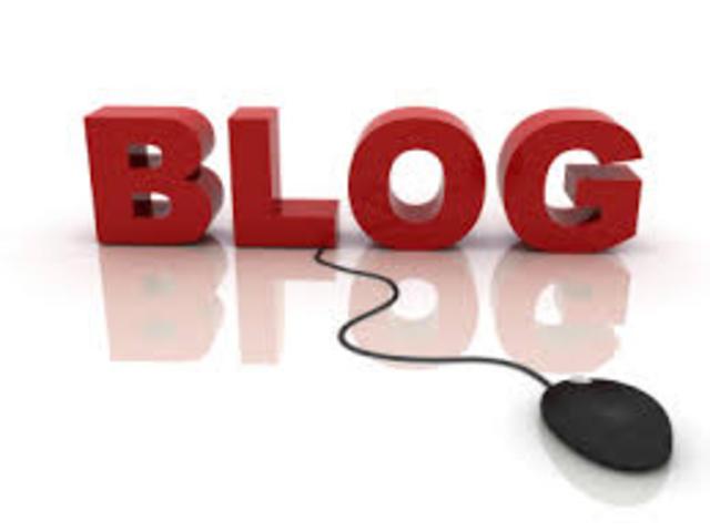 Nacimiento de los blogs
