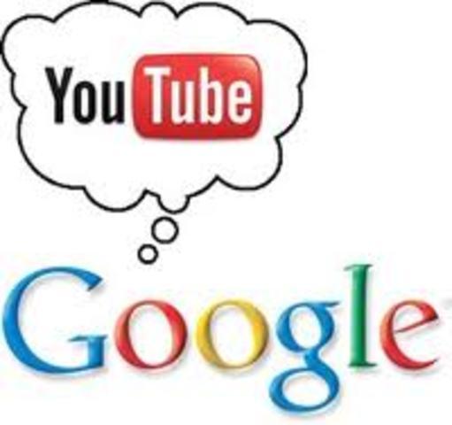 Google adquiere you tube por valor de 1650 millones de dolares