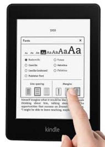 Amazon crea el lector de ibook Kindle