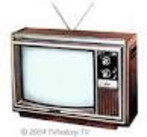 Households with TV's