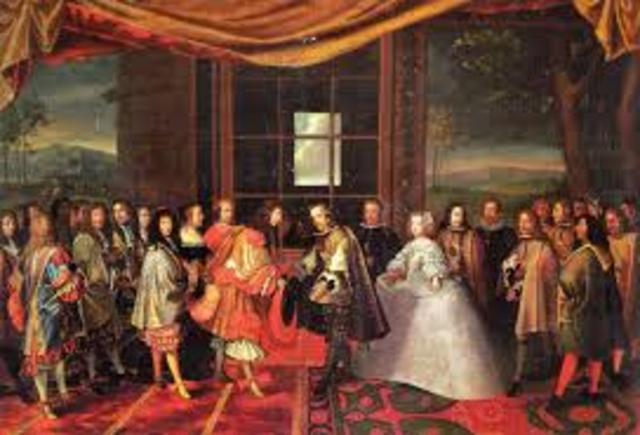 El Tratado de los Pirineos (o Paz de los Pirineos)