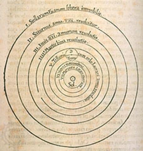 Las revoluciones de las esferas celestes de Nicolás Copérnico