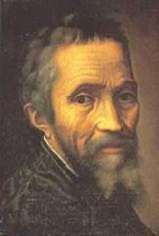 Muerte de  Michelangelo Buonarroti
