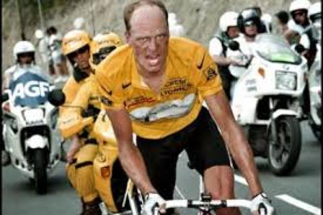 Bjarne Riis Vinder årets Tour De France