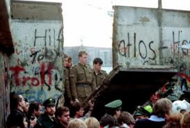 Berlin murens fald