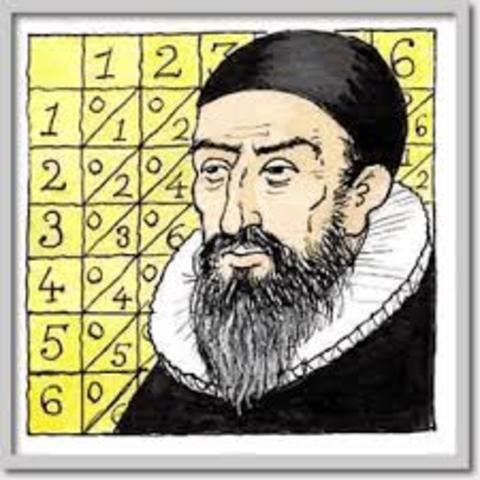 Napier inventa los logaritmos