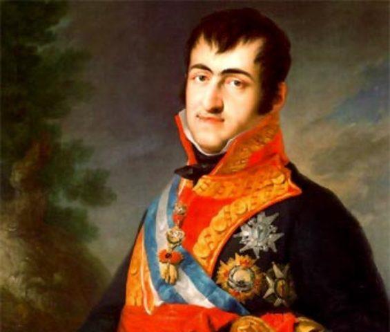 Ferdinand VII First Reign