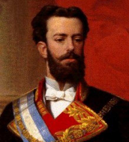 Amadeus I Abdication/ First Spanish Republic
