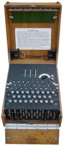 Enigma inventada en 1918 por Arthur Scherbius