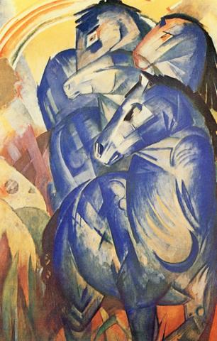 Die Brücke y Der Blaue Reiter