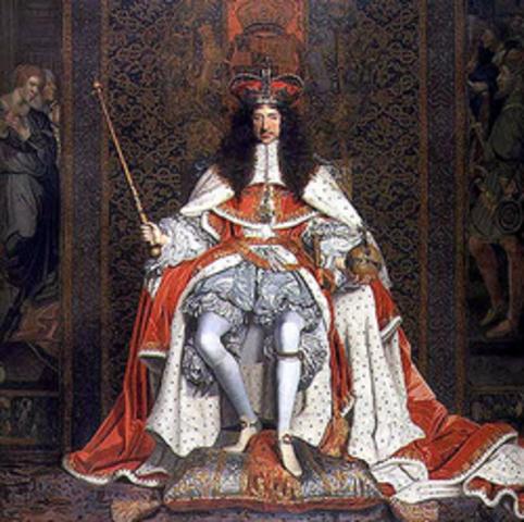 Restauración de los Estuardos (Jacobo II)