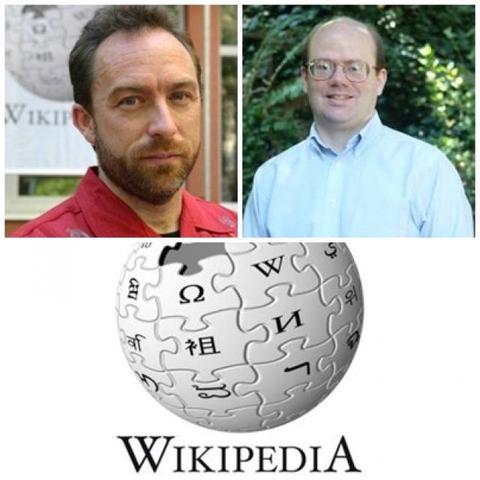 Jimmy Wales & Larry Sanger