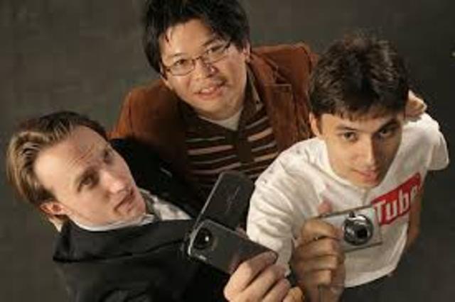 Chad Hurley, Steve Chen & Jawed Karim