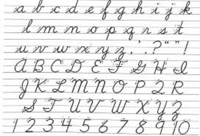 Cognitive-Handwriting Contest