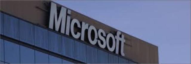 Se crea la empresa microsoft