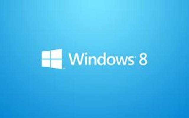Se da la creacion a windows 8