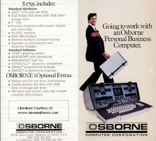 Osborne-1 primer ordeador portatil