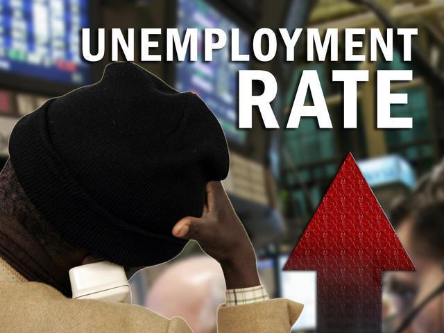 Unemployment Rate Rises