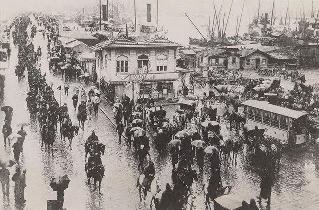 BRITISH TAKE ISTANBUL